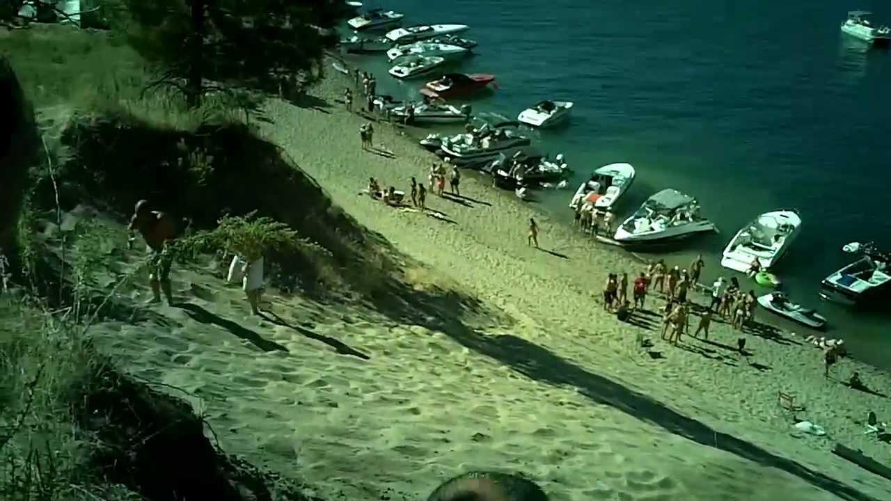Lake Roosevelt Water Slide 2011 Youtube