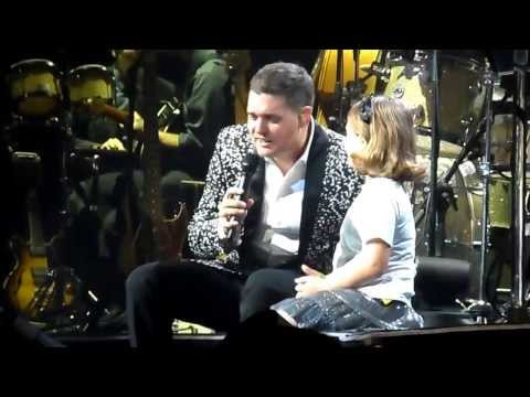 "Michael Buble - ""You've Got A Friend In Me"" Pittsburgh 2013"