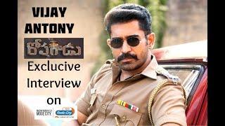 Vijay Antony Telugu movie Roshagaadu Exclucive interview with RJ Shiv