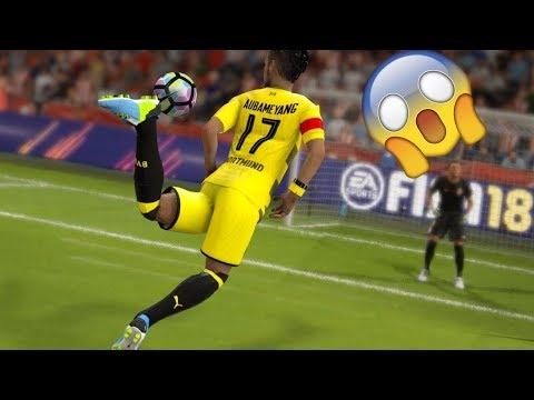 ЛУЧШИЕ ГОЛЫ ЯНВАРЯ FIFA 18