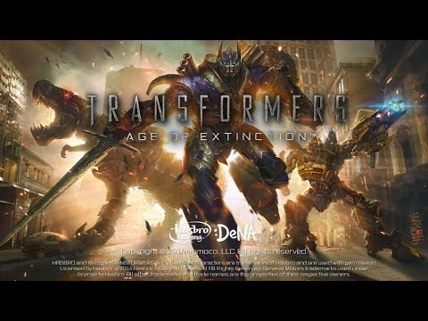 TRANSFORMERS: AGE OF EXTINCTION - The Official Game - iOS / Android - HD Gameplay Trailer