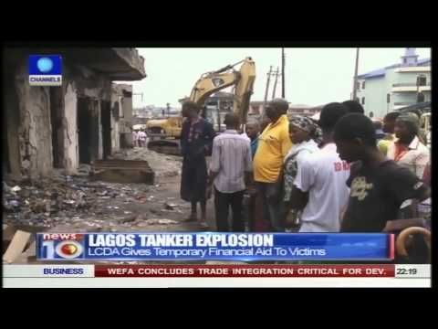News@10: Lagos Tanker Explosion: Victims Continue To Count Losses From Fire 07/06/15 Pt. 2