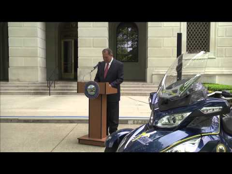 West Virginia Governor Earl Ray Tomblin proclamation of Motorcycle Safety Awareness Month