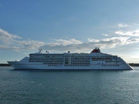 Five Cruise Ships in Southampton Docks - 22/07/2016