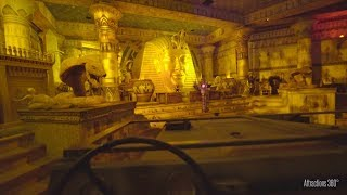 Pharaoh's Fury Dark Ride Lotte World Theme Park - Similar to Indiana Jones Ride