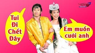 Tài xế Hoài Linh cưới được Hoa Hậu mừng đến Ngất Xỉu | Hài Hoài Linh Hay Nhất 2018