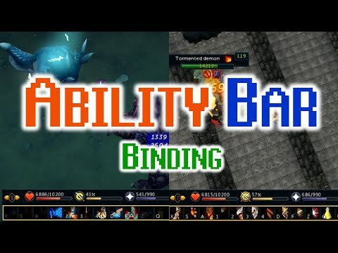 Runescape - Ability bar binding update - Testing + Review!