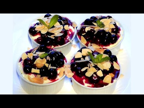 100th video (Part 2) Cheesecake Blueberry &#8211; Garlic Mushrooms &#8211; Lamb Shanks recipe