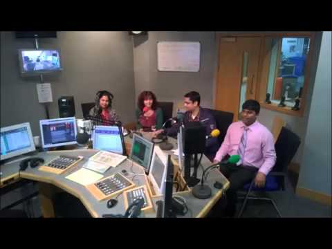 BBC Radio on Saudha's world poetry and Indian classical music festival 2014