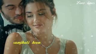 lyrical Mera dil bhi kitna pagal ||murat & hayat || romantic song #murat&hayat #meradilbhikitnapagal