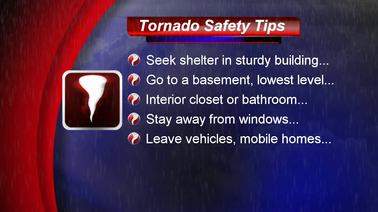 Tornado Safety Tips National Geographic Tornado Safety Tips
