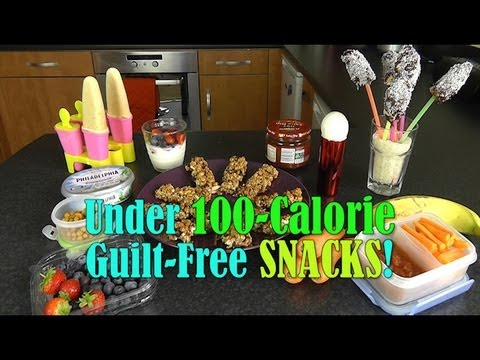 Under 100-Calorie Guilt-Free Healthy Snacks
