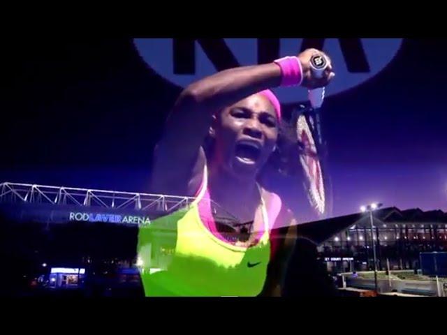 Road to the final: Maria v Serena - Australian Open 2015