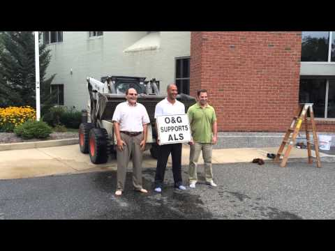 Ice Bucket Challenge Denayr Gant, Brad Oneglia and Leo Martigneni