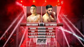 MIX FIGHT - ILIA TOPURIA vs JHON GUARIN