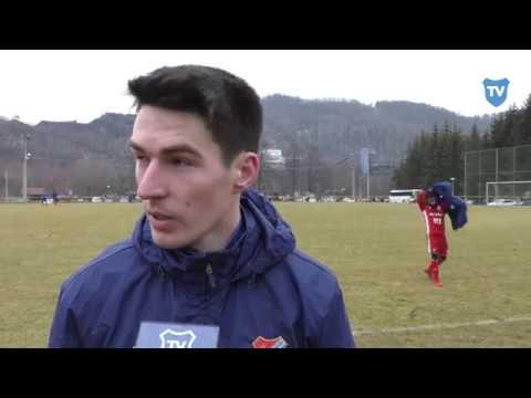 Příprava: Robert Hrubý hodnotí zápas s Trenčínem (3:0)