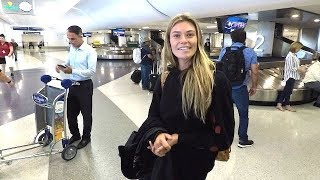 Things Get Awkward When Model Samantha Hoopes Is Asked If Her BF Is