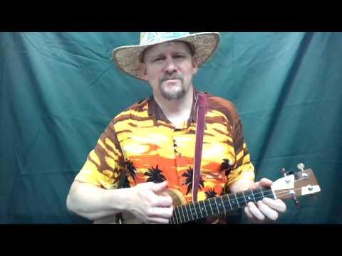 MUJ:  Kokomo - Beach Boys (ukulele tutorial)