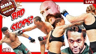 🔴 UFC SACRAMENTO HAD TWO BAD STOPPAGES? + UFC SAN ANTONIO FIGHT WEEK + MMA NEWS