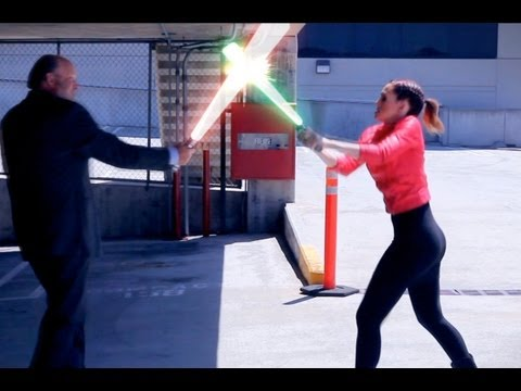 SUPERHEROES - Lightsaber Duel (Allison Geddie Music Video)
