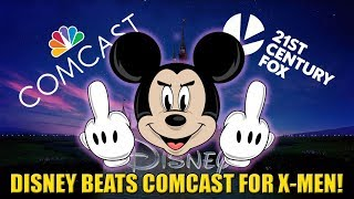 Comcast Drops Out of 21st Century Fox Bidding War with Disney - IGN News
