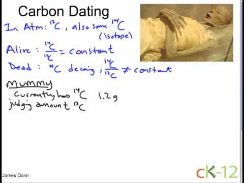 carbon dating example problem 21 example problem 3 types of dating 31 carbon one way young earth creationists and other denialists try to discredit radiometric dating is to cite examples.