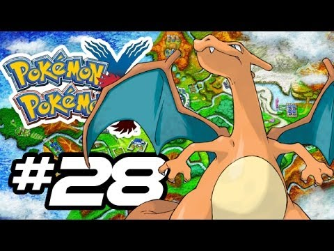 Pokemon X and Y Gameplay Walkthrough - Part 28 - CHARIZARD!! (Pokemon Gameplay 3DS HD)