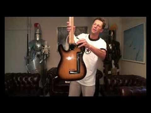 Fender Telecaster Clarence White stringbender B-bender