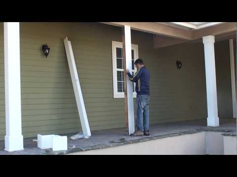 Diy Porch Columns Makeover Save Money With Diy Guides