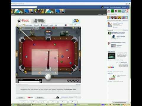 new pool live tour aim line with link (GD pool assistant