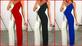 Latest Office Jumpsuits Ideas; Jumpsuits Styles That Will Look Great On You By Jessy Styles