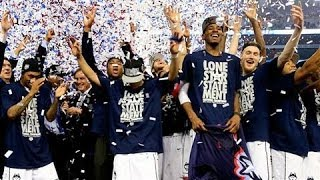 The UConn Huskies Are NCAA Champions  4/8/14  (Sports)