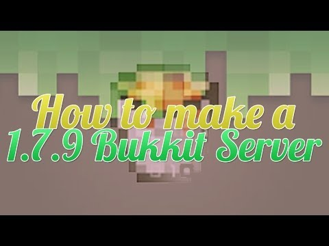 Setting Up a Minecraft Bukkit 1.7.9 Server [2014] Fast & Easy