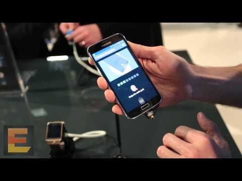 Samsung Galaxy S5, fingerprint scanner (registering and unlocking)
