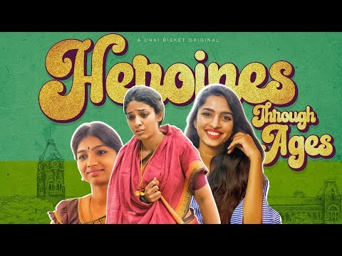 Tollywood Heroines Through Ages | Chai Bisket | Mahanati