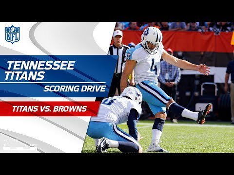 Tennessee Drives Downfield to Take Lead Before Halftime | Titans vs. Browns | NFL Wk 7 Highlights