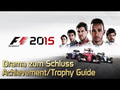 F1 2015 - Drama zum Schluss Achievement/Trophy Guide