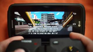 Android Jet Set Radio Play with i-rocks G01 Pad