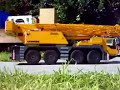 Rc big and strong crane, rc liebherr crane, strong rc