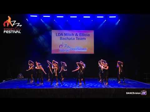 LDA Mitch & Ellicia Bachata Team - 2016 Sydney Latin Festival
