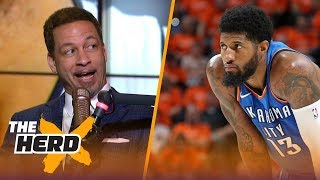download musica Chris Broussard on Paul George leaving OKC to potentially join LeBron on Lakers NBA THE HERD