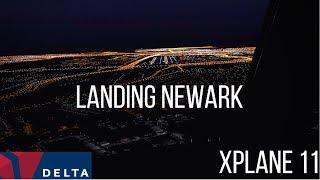 X-Plane 11 | Ultra-Realistic Landing In Newark | The New 737-700 | KEWR