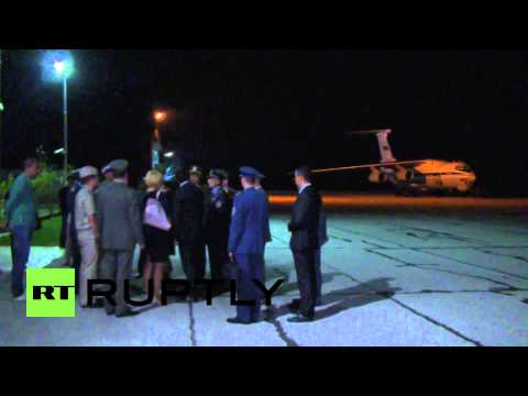 Serbia: Russia delivers 90 tonnes of humanitarian aid to Serbian flood victims