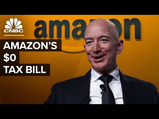 How Amazon Paid 0 Federal Income Tax in 2018