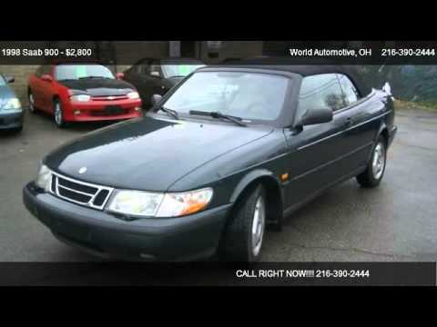 1998 Saab 900 S convertible - for sale in Euclid, OH 44132