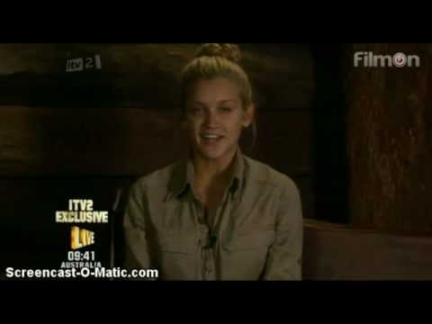 Ashley Roberts answers questions in Bush Telegraph - I'm A Celebrity...Get Me Out Of Here 2012