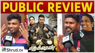 Action Public Review I Vishal, Tamannaah I Sundar.C I Action Tamil Movie Review