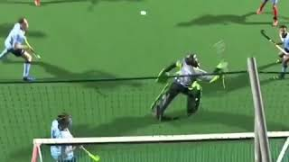Amazing save by goalkeeper