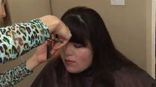 How to Cut Bangs // Straight Bangs Trim Tutorial // Hair 101