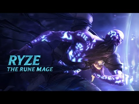 Ryze Champion Spotlight | Gameplay - League Of Legends